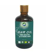 Organic Wellness Hair Oil 100ml Bottle For Healthy & Strong Hair - £13.81 GBP