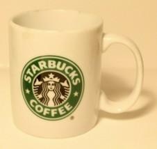 Starbucks Coffee Cup Mug Green Logo from 2005   - $9.89