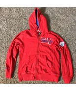 Mitchell & Ness Washington Capitals Hockey Distressed Style Hoodie Large - $29.69