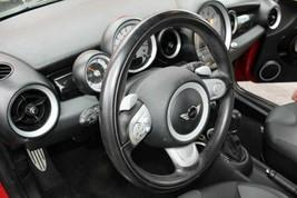 Steering Wheel 2007 08 09 10 11 12 13 14 15 Mini Cooper S Convertible Black - $220.77