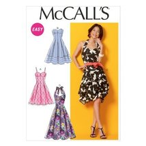 "McCall Pattern Company M6956 Misses' Dresses and Belt, Size E5 ""14-16-18-20-22"" - $14.21"