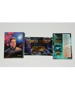 Star Trek Master Series Trading Cards Full 90 Card Set with Wrapper 1993... - $9.74
