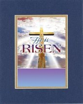 Poems for Easter - He is risen. . . 8 x 10 Inches Biblical/Religious Verses set  - $11.14