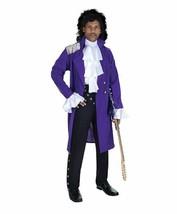 Ste Prince Pop Star Violet Manteau Adulte Hommes Déguisement Halloween 2... - £40.54 GBP+
