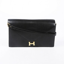 Vintage Hermes Lydie Lizard Skin Shoulder Bag - $4,005.00