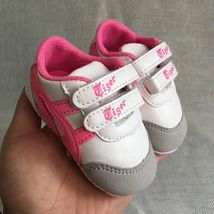 Pink Baby Girls Sports Walking Shoes Size 1,2,3 Leather Toddler Shoes T189 - $16.99