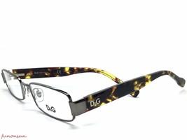 Dolce & Gabbana Women's Eyeglasses D&G 5091 1010 Gunmetal Havana Rectang... - $86.33