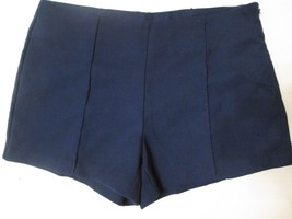 "Women's Forever 21 Hot Shorts , Navy Blue, Size M, Waist 15"" & Length 11.5"" #V5 - $17.99"