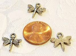 SMALL DRAGONFLY FINE PEWTER CHARM image 4