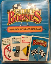 Mille Bornes ~ The French Auto Race Card Game 1992 ~ Parker Brothers [Brand New] - $48.49