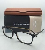 Oliver Peoples Brille Tosello 5335U 1441 54-18 Schwarz auf Schildkröte Rahmen