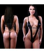 Sexy femmes lingerie sexy look mouillé sous-vêtements babydoll nuisette - $14.52