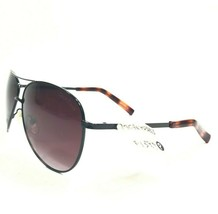Cole Haan C1669 51 Sunglasses Brown Full Rim Aviator Frames w/ Purple Le... - $28.04