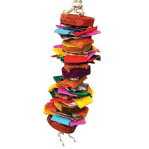 A&E Cage Assorted Java Wood Color Splash Bird Toy 3x16 In - $32.77 CAD