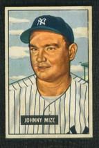 1951 Bowman # 50 Johnny Mize Yankees Near Mint / Mint Or Better !! - $1,150.00