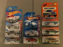 Hot Wheels & Matchbox 57' Chevy > 8 Car Lot > 1957 - $20.56