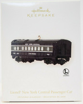 Hallmark: Lionel New York Central Pasenger Car - 2008 - Keepsake Ornament - $15.14