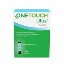 OneTouch Ultra Blue Blood Glucose Test Strips 100 Count - $75.00