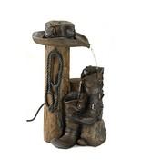 Fountains, Wild Western Garden Outdoor Yard Floor Water Fountain Decor, ... - $125.77