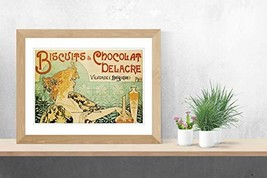 """Biscuits and Chocolat Delacre - Art Print - 13"""" x 19"""" - Custom Sizes Available - $25.00"""