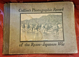 Antique Book Collier's Photographic Record of the Russo-Japanese War 1905