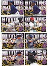 1995 Fleer Ultra Inserts Hitting Machine 8 Card Lot - $3.85