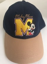 b52bb26fd11 Disney Embroidered Mickey Mouse BIG M NAVY Back mens Hat Cap -  19.59
