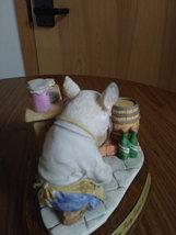 "1989 Heritage Mint Little Nook Village Peter ""Porky"" Trotter Leonardo Figurine image 2"