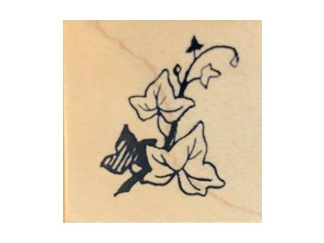 PSX Ivy Leaves Rubber Stamp #B-062