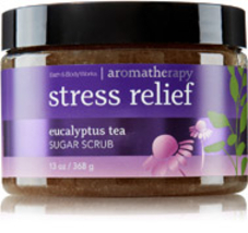 Bath & Body Works Stress Relief Eucalyptus Tea Sugar Scrub 13 oz / 368 g - $95.99