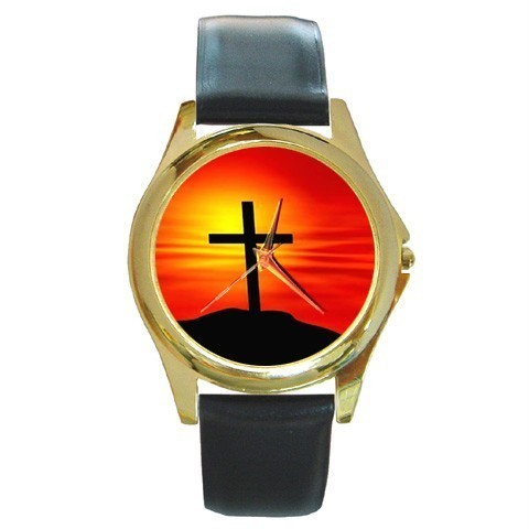 CROSS CALVALRY CHRISTMAS GOLD-TONE WATCH 8 OTHER STYLS  Bonanza