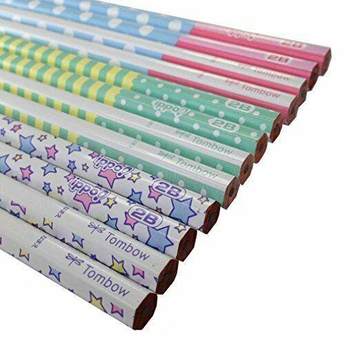 Tombow ippo! Writing pencil 2B KB-KRW03-2B print W03 12set