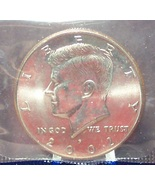2002-P Kennedy Half Dollar BU Still in The Cello #0933 - $5.79