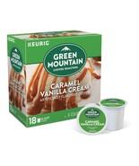 Green Mountain Caramel Vanilla Coffee 18 to 90 Keurig K cups Pick Any Qu... - $16.99+