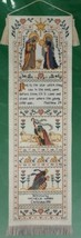 Dimensions Blessed Nativity Bell Pull Banner Christmas Counted Cross Stitch Kit - $11.62