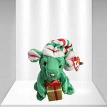 """TY Teenie Beanie Baby """"Tidings the Holiday Mouse"""" Stuffed Toy With Tag - $22.28"""