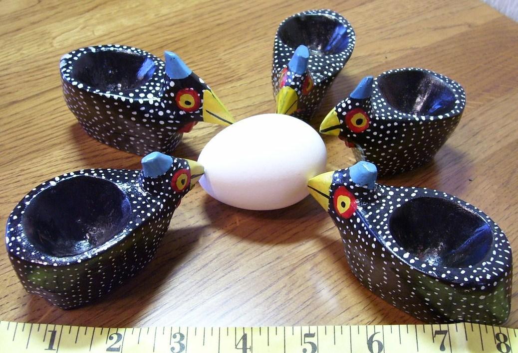 Hen egg holder set  1