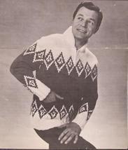 Vintage Mary Maxim Knitting Patterns Cardigan Sweater ADULTS Sizes 32 - 36 - $6.95