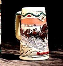 Budweiser 1996 Holiday Stein AB 246 image 4
