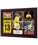 NEW Alisson Becker Liverpool FC signed autographed photo poster mo FRAMED - $21.90