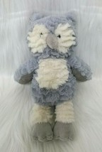 "10"" Mary Meyer Marshmallow Swoops Owl Gray Cream Soft Toy Plush Lovey B213 - $34.99"