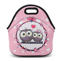 Neoprene Reusable Insulated Lunch Tote Bag School Picnic Thermal Carryin... - $17.02 CAD