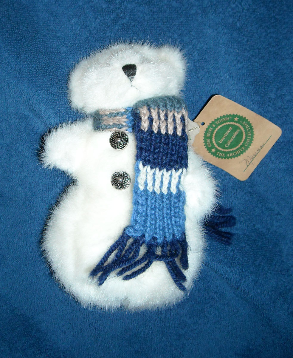 NWT BOYDS BEARS MARVIN SNOW BEAR 7