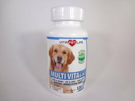 Vita Pet Life Multi Vita 6-in-1 Bacon & Liver Flavored 120 Chewable Tabl... - $23.38