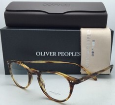 New Oliver Peoples Eyeglasses Riley R Emt Ov 5004 1016 45-20 El Mirage Tortoise - $299.99