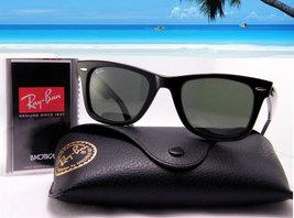 Ray Ban Wayfarer Sunglasses RB 2140 Black for Men Women - $72.85