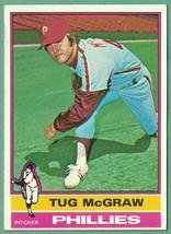 1976 Topps Tug McGraw EX-Mt #565 - $1.75