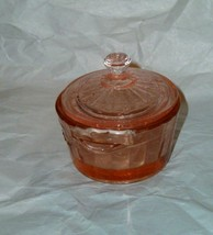 2 Vintage Depression Pink Glass Children's Miniature Salt Cellers - $14.84