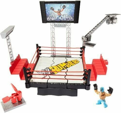Primary image for WWE Rumblers Rampage Devastadium Playset by Mattel