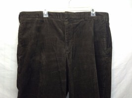 Men's Dark Green Corduroy Pants by L.L. Bean Sz 36 image 2